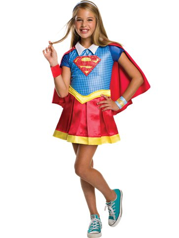 Supergirl Deluxe - Child Costume front