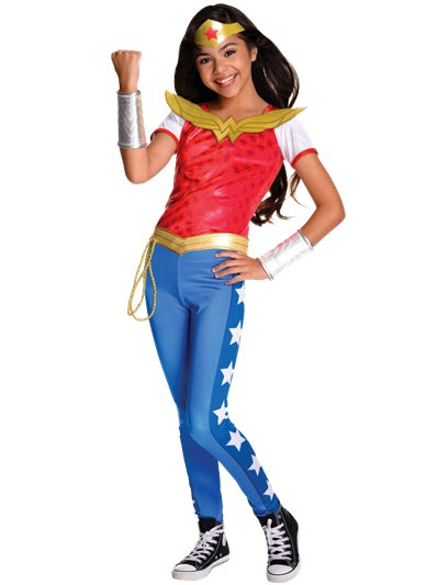 Wonder Woman Deluxe - Child Costume