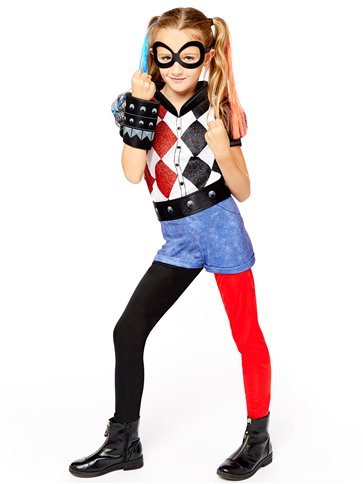 Harley Quinn Deluxe - Child Costume front