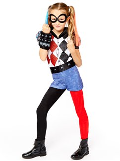Deluxe Harley Quinn - Child Costume