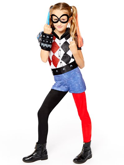 Harley Quinn Deluxe - Child Costume