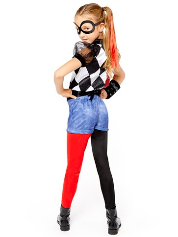 Harley Quinn Deluxe - Child Costume left