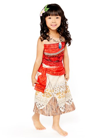 Disney Moana Deluxe - Child Costume front