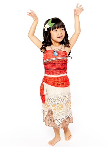 Disney Moana Deluxe - Child Costume left
