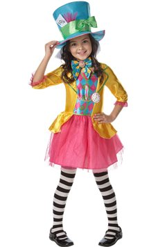 Disney Alice in Wonderland Mad Hatter Girl - Child & Teen Costume