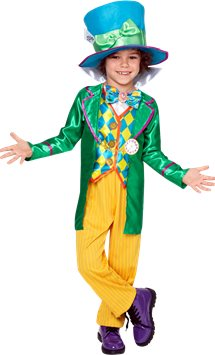 Alice in Wonderland Mad Hatter Boy - Child Costume