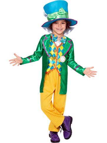 Alice in Wonderland Mad Hatter Boy - Child Costume front