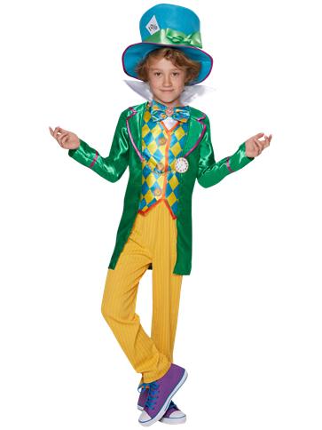 Alice In Wonderland Mad Hatter Boy Child Costume Party