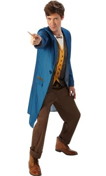Fantastic Beasts Newt Scamander - Adult Costume