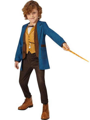Fantastic Beasts Newt Scamander - Child Costume front