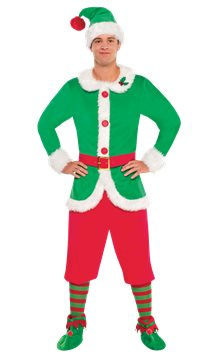 North Pole Elf - Adult Costume