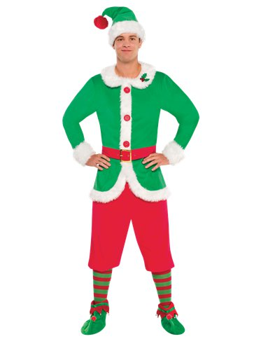 North Pole Elf - Adult Costume front