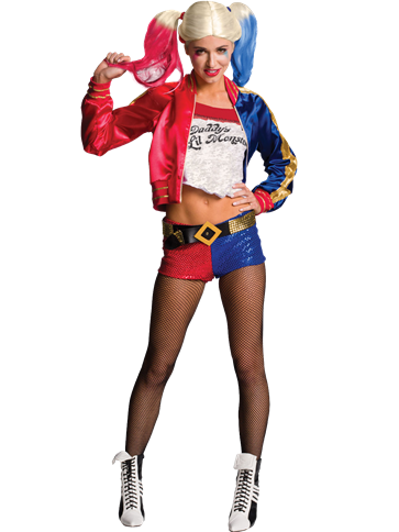 Harley Quinn Deluxe - Adult Costume front