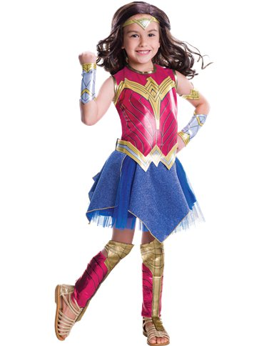 Wonder Woman Deluxe - Child Costume front