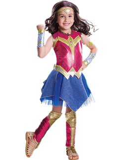 Deluxe Wonder Woman - Child Costume