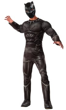 Black Panther Deluxe Muscle Chest - Adult Costume