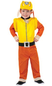 Paw Patrol Rubble -Toddler and Child Costume