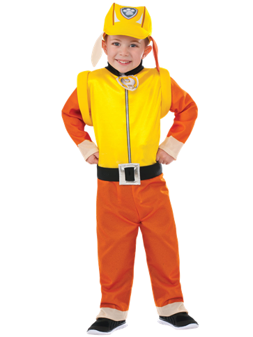 Paw Patrol Rubble -Toddler and Child Costume front