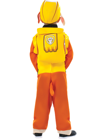 Paw Patrol Rubble -Toddler and Child Costume left