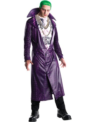 Deluxe Joker - Adult Costume front
