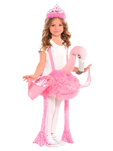 Ride on Flamingo - Child Costume front