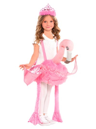 Ride on Flamingo - Child Costume