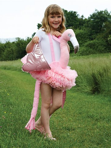 Ride on Flamingo - Child Costume left