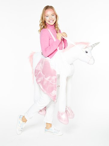 Adult Ride on Unicorn - Adult Costume front