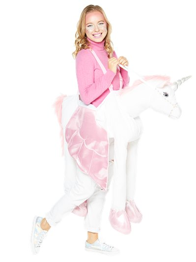 Adult Ride on Unicorn - Adult Costume
