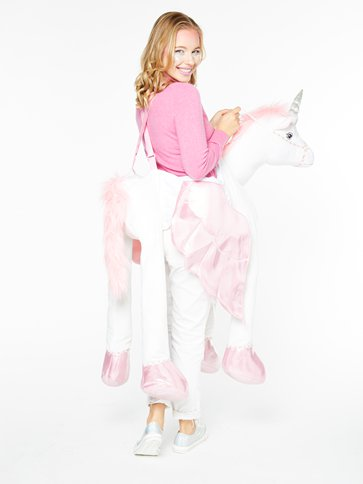 Adult Ride on Unicorn - Adult Costume left
