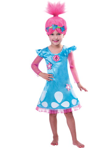Poppy Trolls - Toddler and Child Costume front