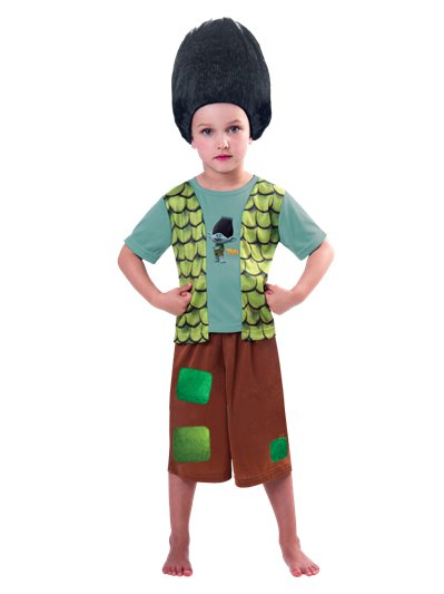 Trolls Branch - Child Costume