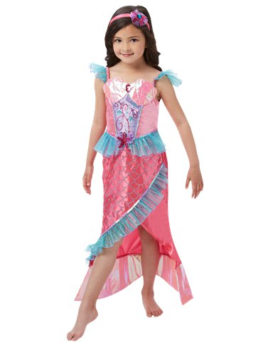 Mermaid Princess Deluxe - Child Costume front