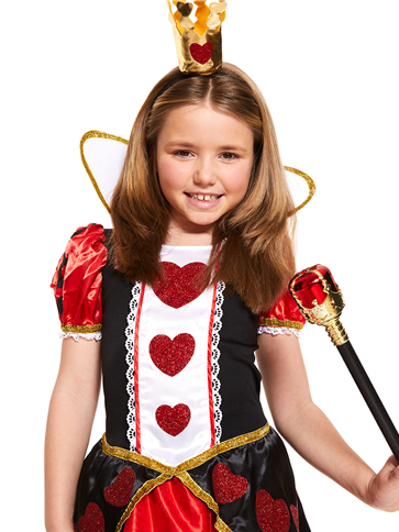 Queen Of Hearts Child Costume Party Delights