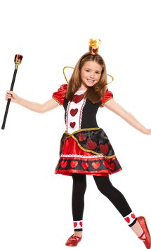 Queen of Hearts - Child Costume