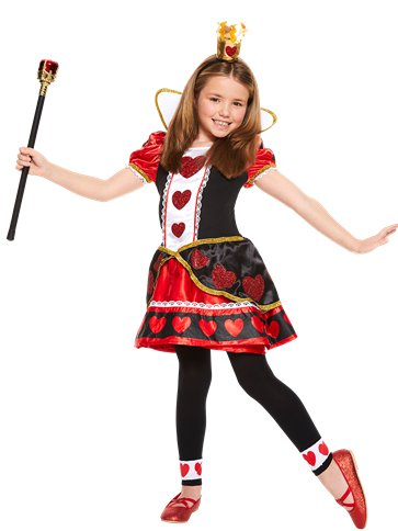 Queen of Hearts - Child Costume front