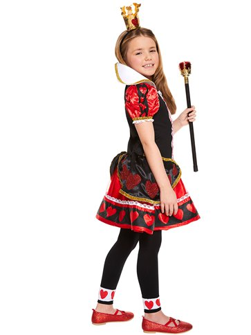 Queen of Hearts - Child Costume left
