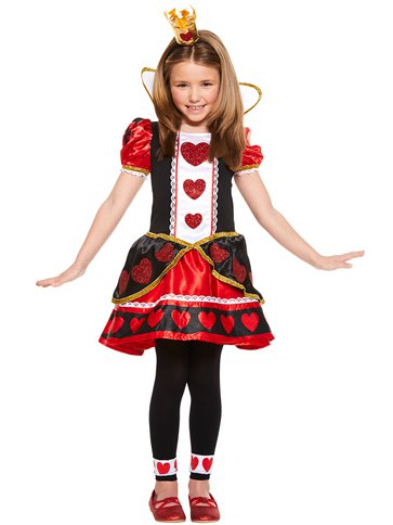 Queen of Hearts - Child Costume pla