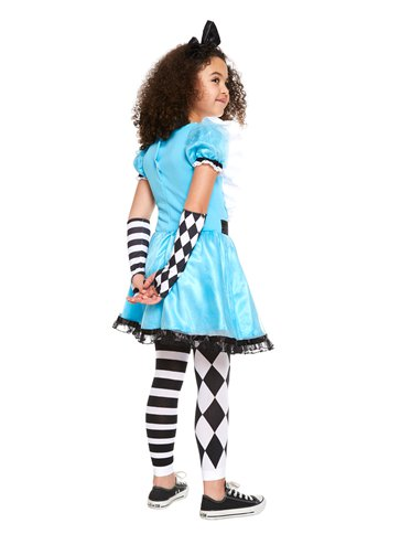 Alice in Wonderland - Child Costume back