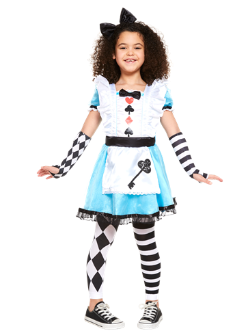 Alice In Wonderland Child Costume Party Delights