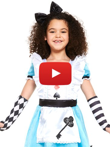 Alice in Wonderland - Child Costume video