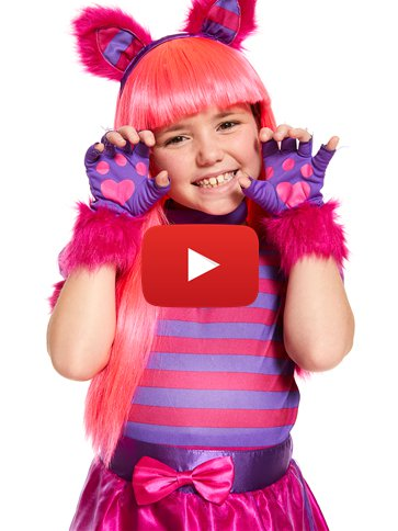 Cheshire Cat - Child Costume video