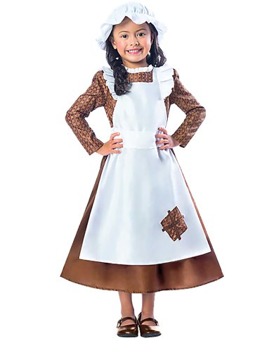 Victorian Girl - Child Costume front