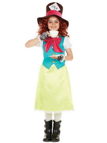 Little Miss Hatter - Child Costume front
