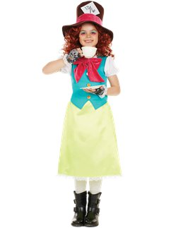 Little Miss Hatter - Child Costume