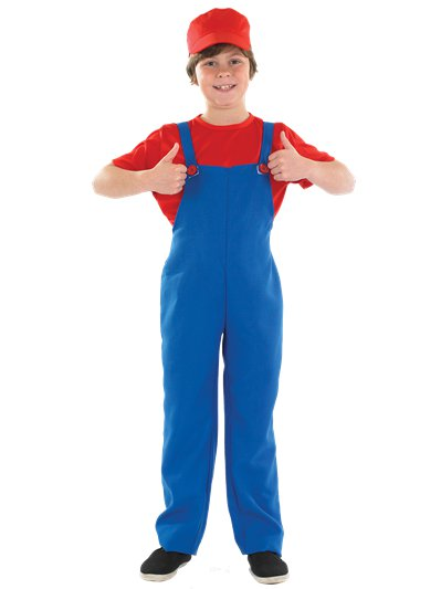 Little Red Plumbers Mate - Child Costume