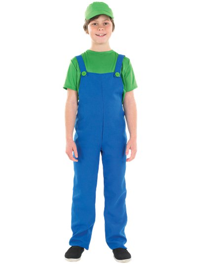 Little Green Plumbers Mate - Child Costume