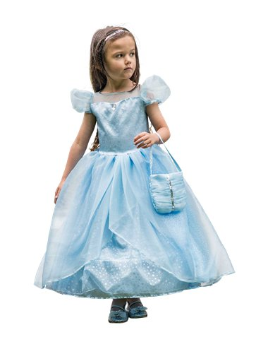 Blue Shimmer Princess - Child Costume front
