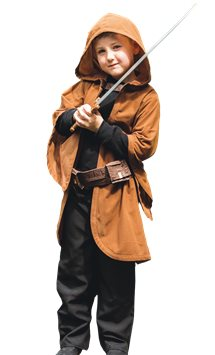 Cloak with Sword - Child Costume