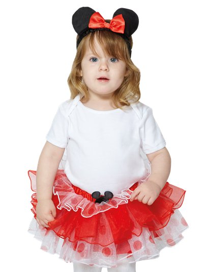 Minnie Mouse Tutu & Headband Set - Baby and Toddler Costume